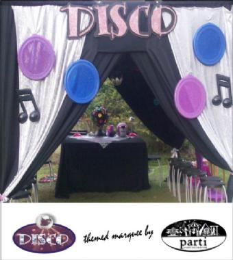 DISCO MARQUEE by PARTI PETITE