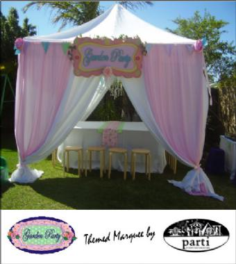 GARDEN PARTY MARQUEE by PARTI PETITE