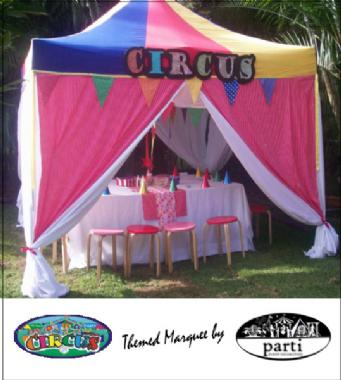 CIRCUS MARQUEE by PARTI PETITE