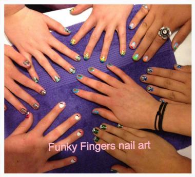 Funky Fingers Nail Art Body Art Entertainoz